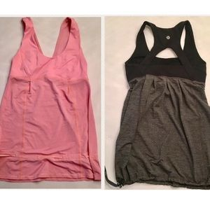 (2) Lululemon Tame Me Tanks